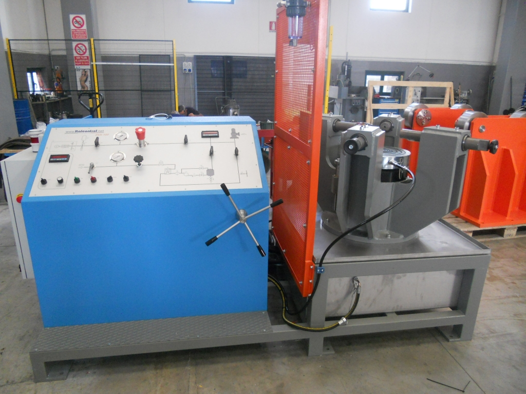 Italcontrol Safety Relief Valve Test Benches
