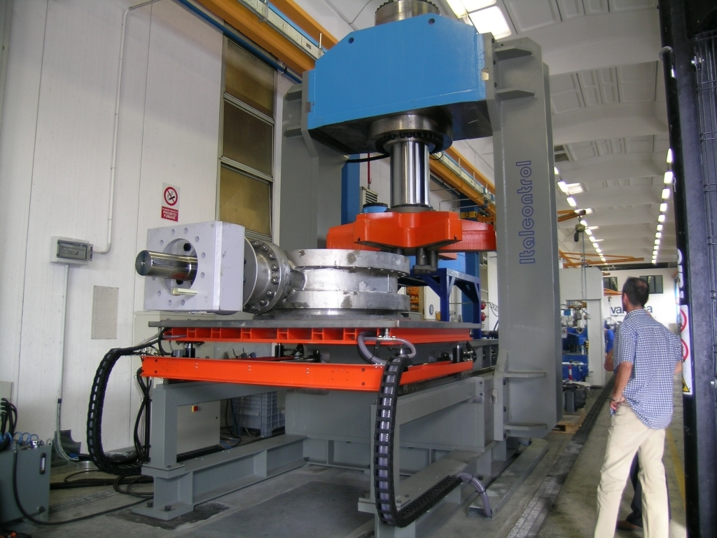 Italcontrol Vertical Test Benches